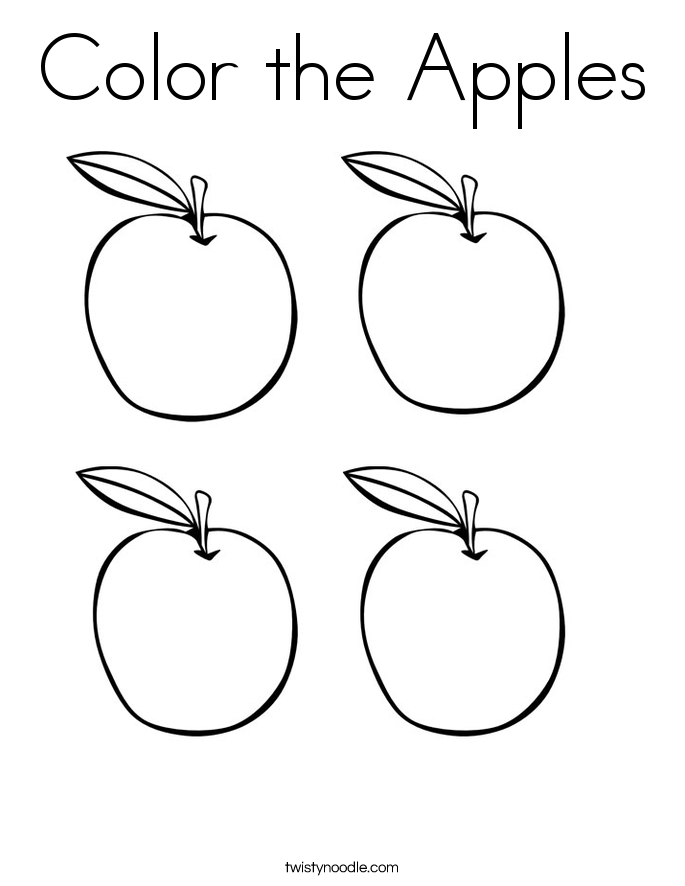 coloring worksheet apple apple coloring pages to download and print for free apple coloring worksheet