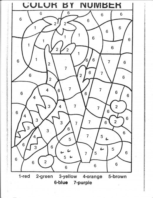 coloring worksheet by numbers color by code worksheets numbers 1 to 9 madebyteachers by coloring worksheet numbers
