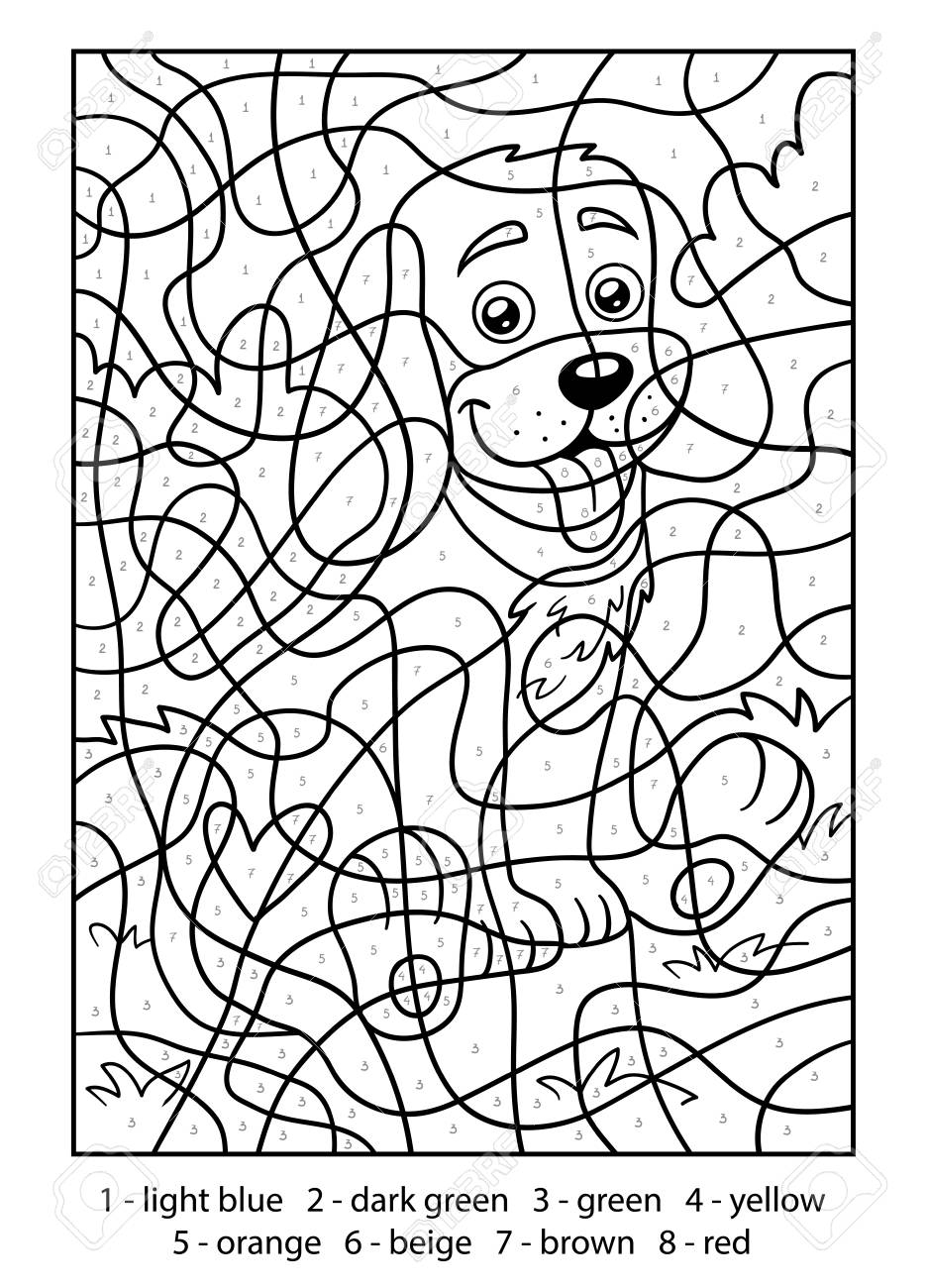 coloring worksheet by numbers craftsactvities and worksheets for preschooltoddler and coloring worksheet by numbers