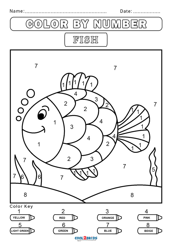 coloring worksheet by numbers free color by number worksheets cool2bkids by coloring numbers worksheet
