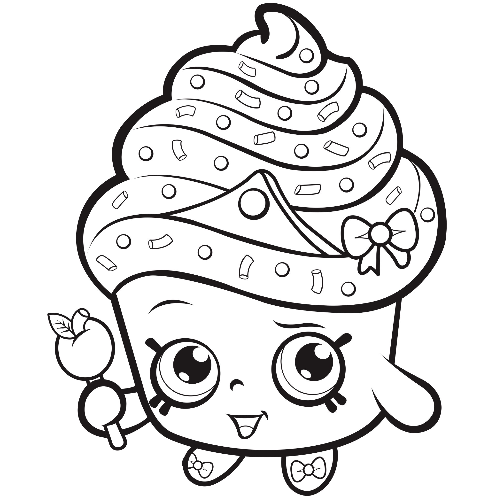 Coloring worksheets shopkins