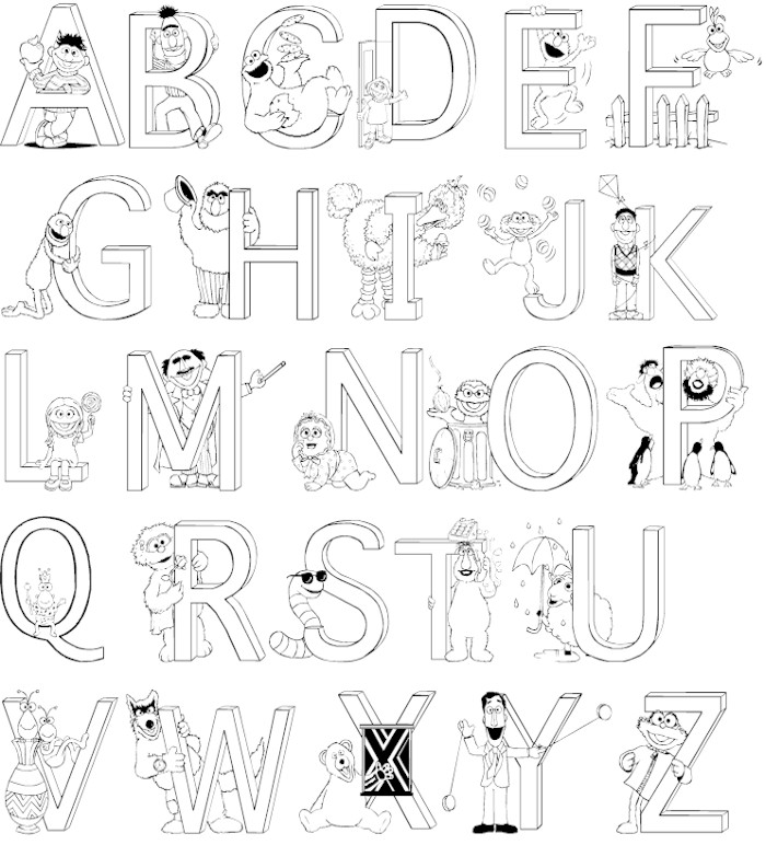 colour in letters of the alphabet alphabet with funny letters coloring pages coloring home of alphabet letters in the colour
