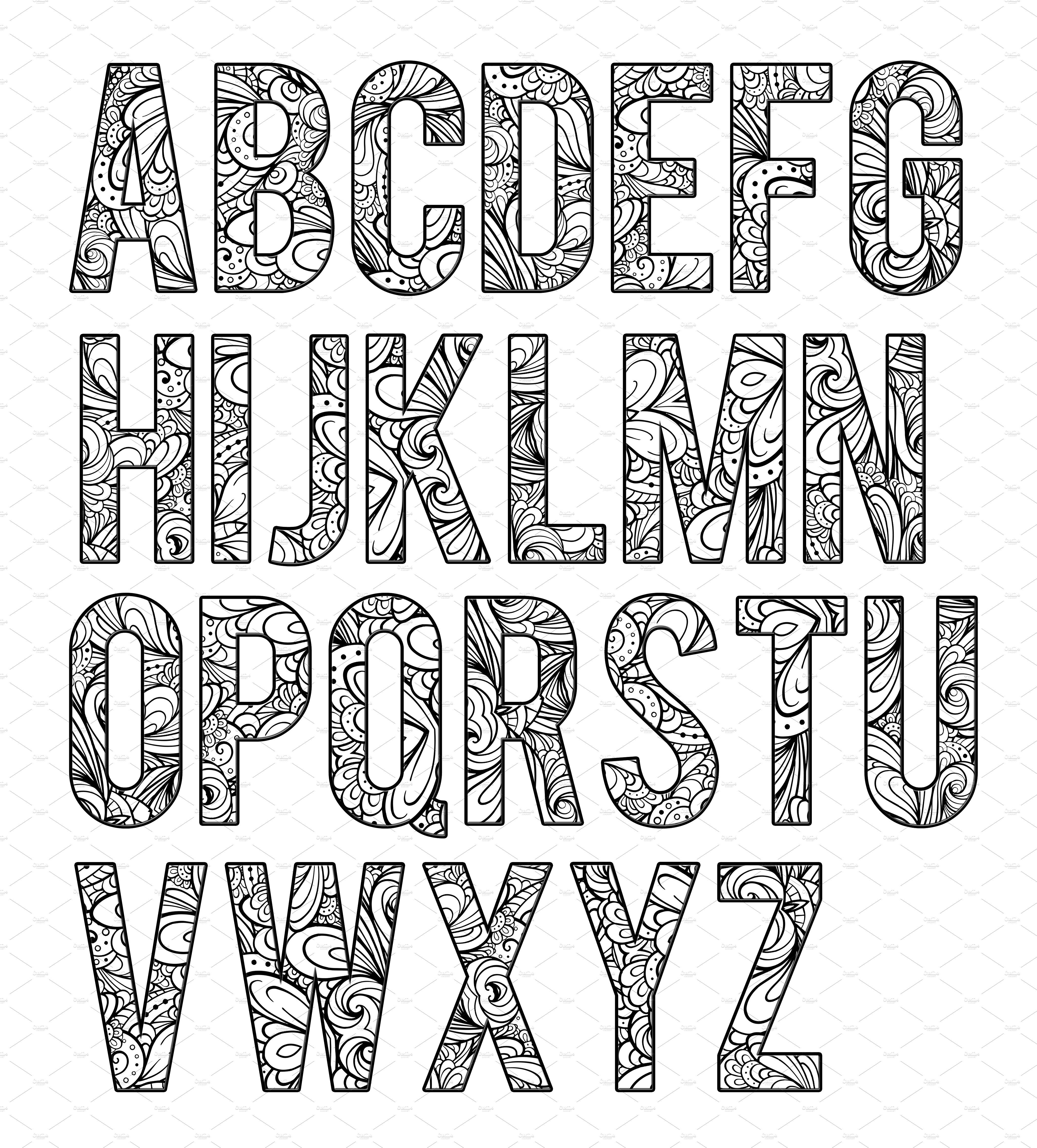 colour in letters of the alphabet coloring letters of the alphabet b2 by artistic letters on the in alphabet letters colour of