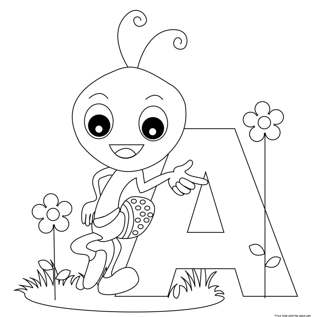 colour in letters of the alphabet free alphabet letter formation worksheets for kidsfree of in the letters alphabet colour