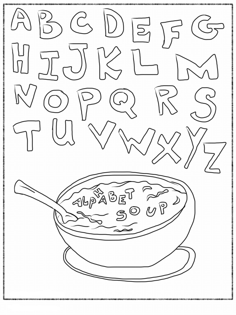 colour in letters of the alphabet free printable alphabet coloring pages for kids best the colour alphabet letters of in