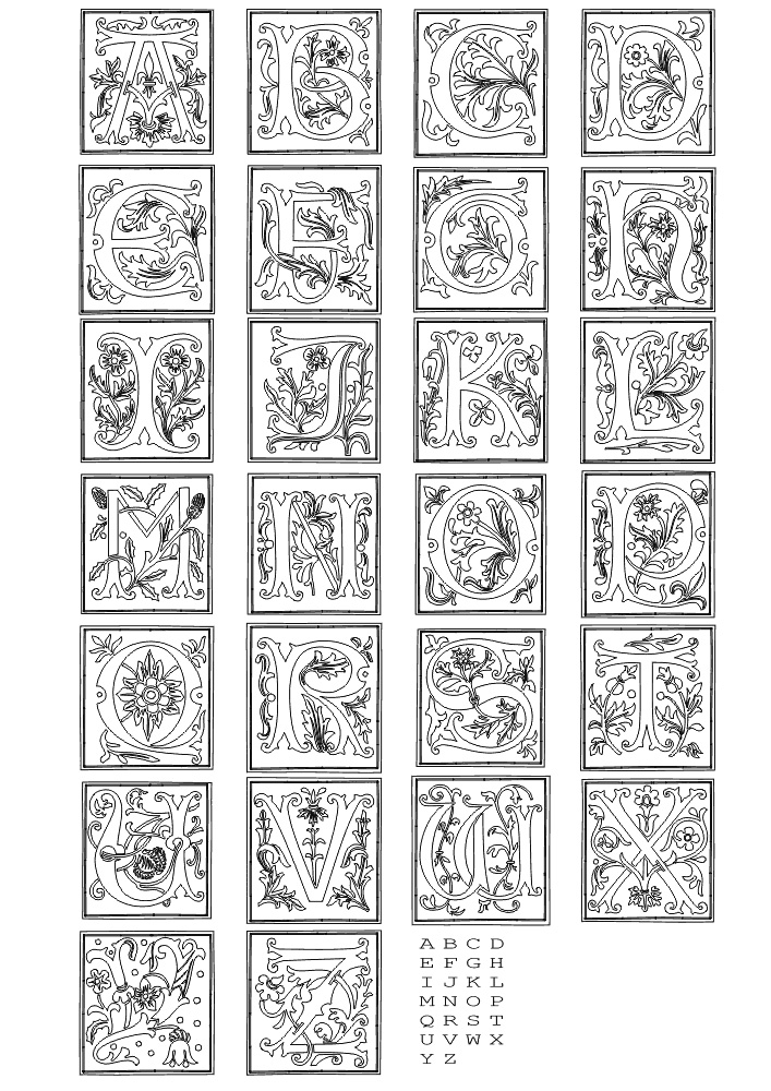 colour in letters of the alphabet fun coloring pages alphabet coloring pages letters alphabet in of colour the