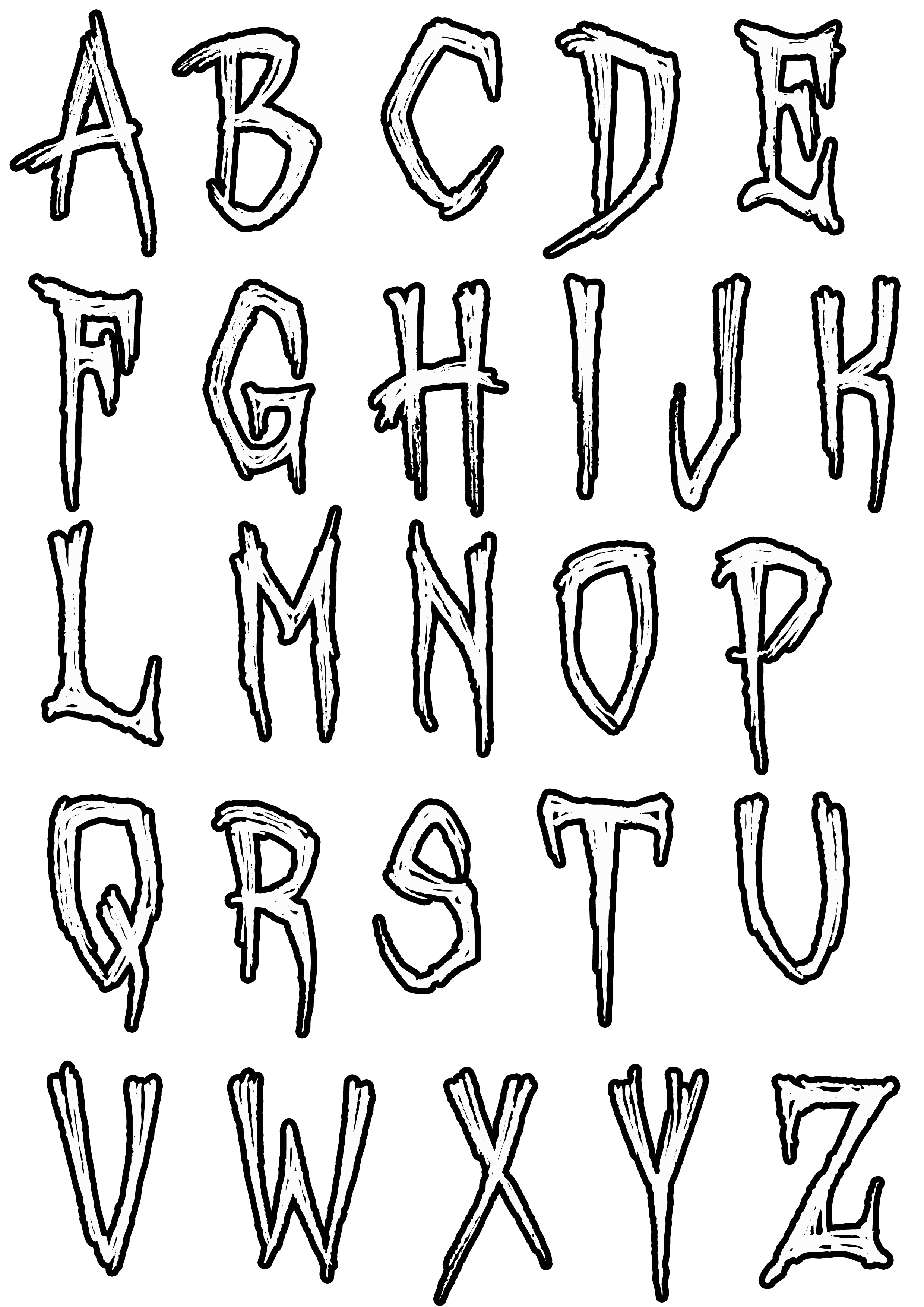 colour in letters of the alphabet simple alphabet 5 alphabet coloring pages for kids to the alphabet in of colour letters