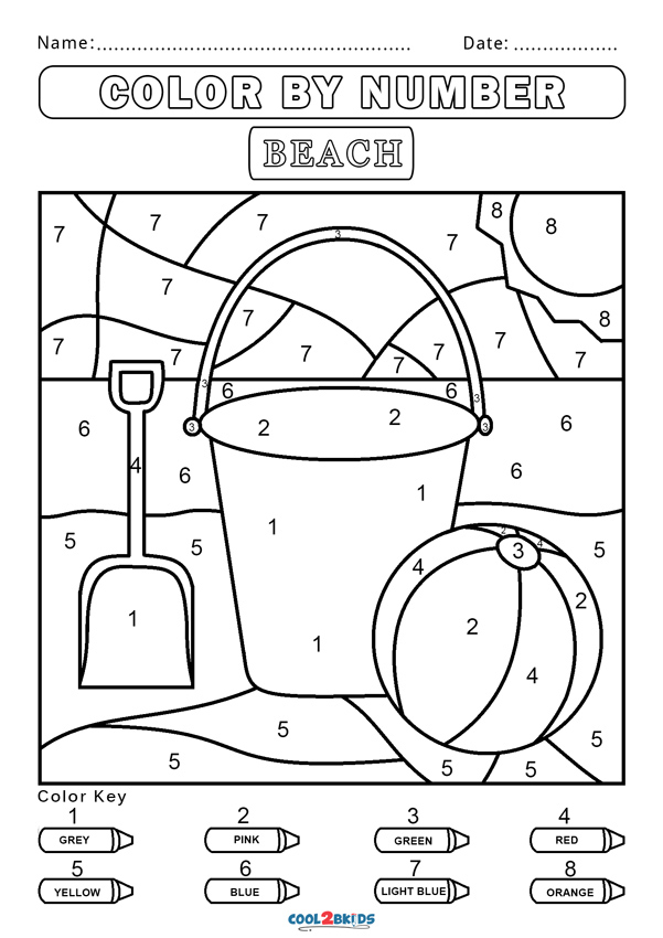 colouring by numbers worksheets color by number coloring pages to download and print for free numbers by worksheets colouring
