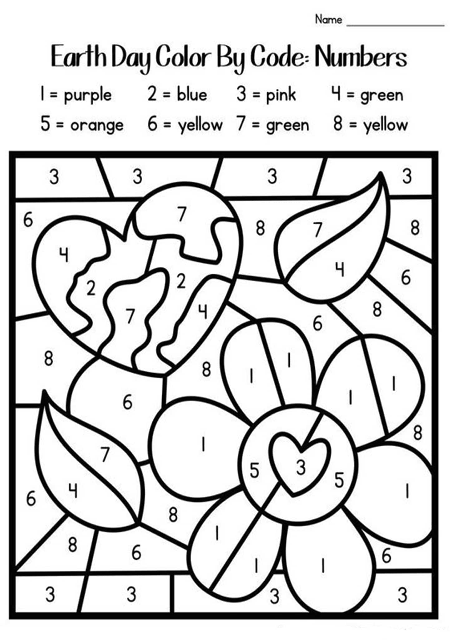 colouring by numbers worksheets free printable color by number coloring pages best by worksheets numbers colouring