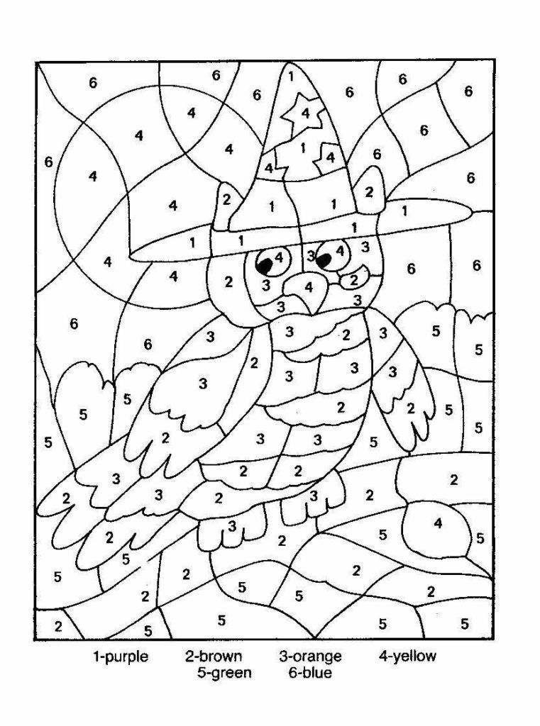colouring by numbers worksheets free printable color by number coloring pages best worksheets by colouring numbers