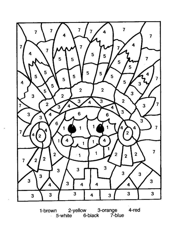 colouring by numbers worksheets free printable color by number worksheets for kindergarten worksheets numbers colouring by 1 1