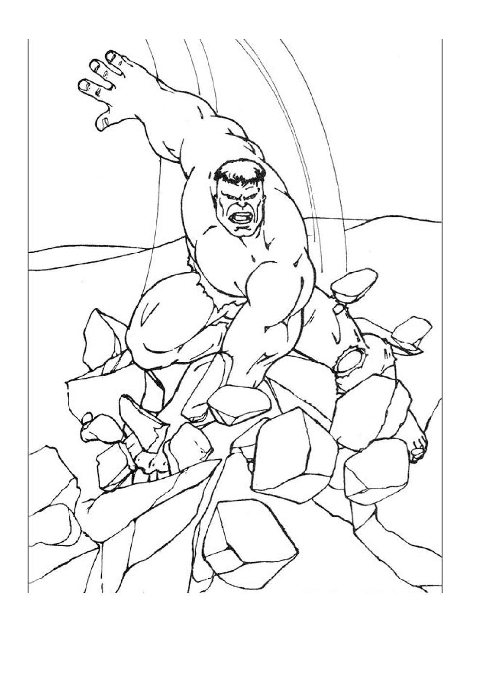 colouring hulk hulk drawing pages at getdrawings free download colouring hulk