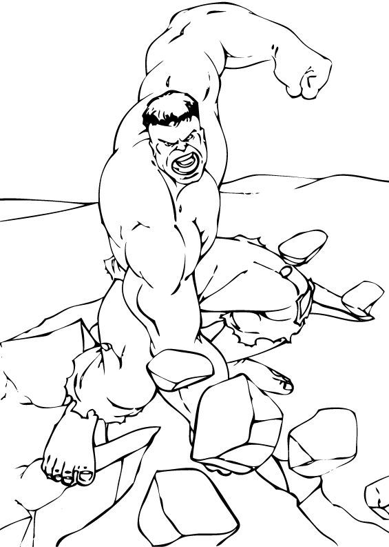 colouring hulk hulk easy drawing at getdrawings free download hulk colouring