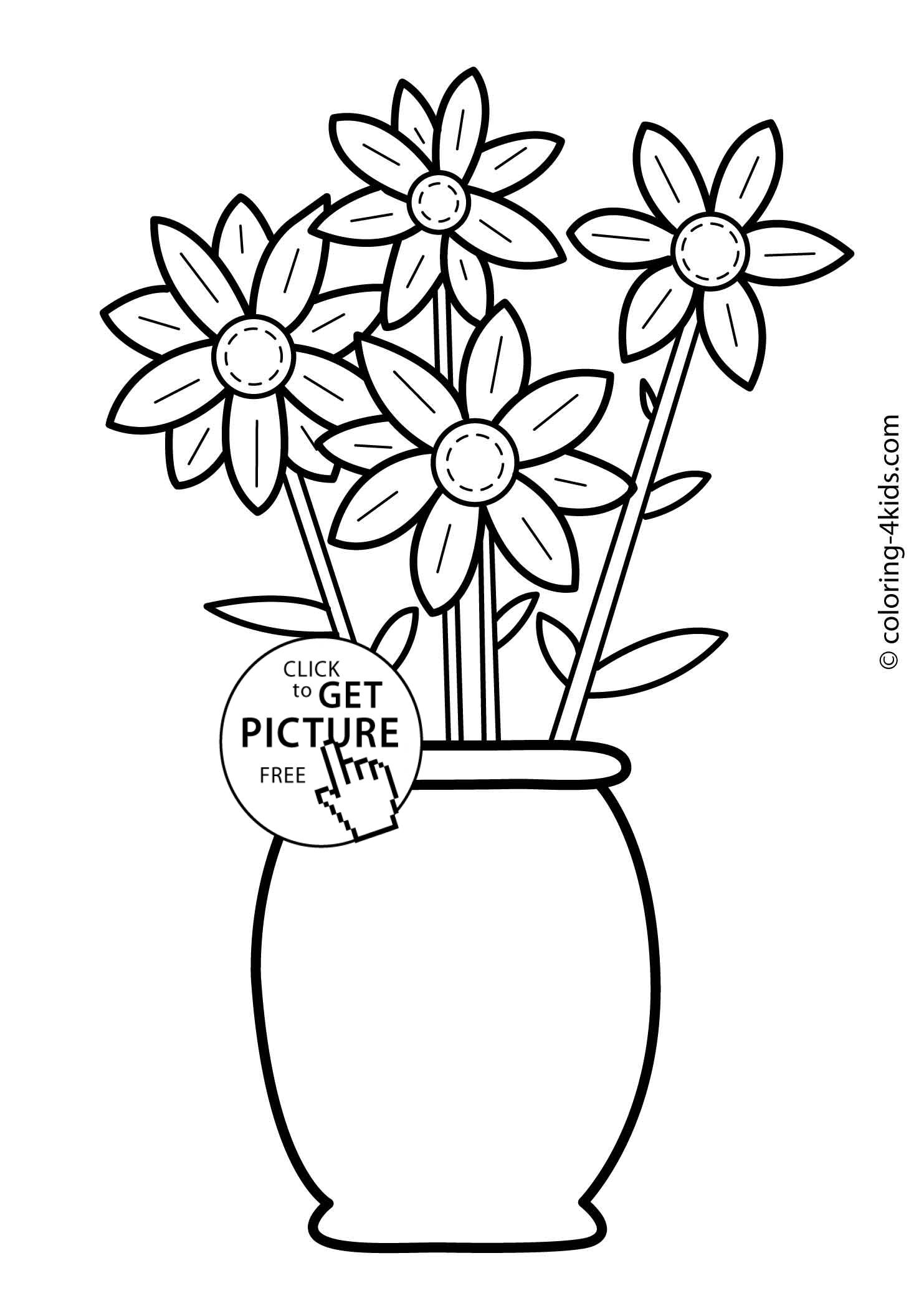 colouring page of flowers coloring pictures of flowers and butterflies beautiful page flowers of colouring