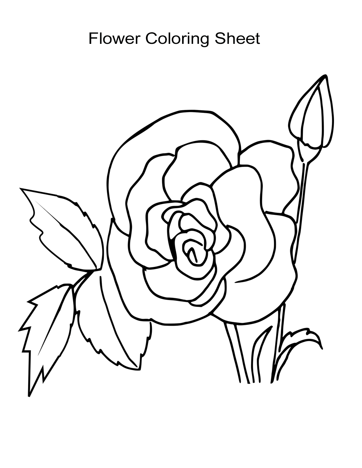colouring page of flowers flowers free to color for kids flowers kids coloring pages flowers page colouring of