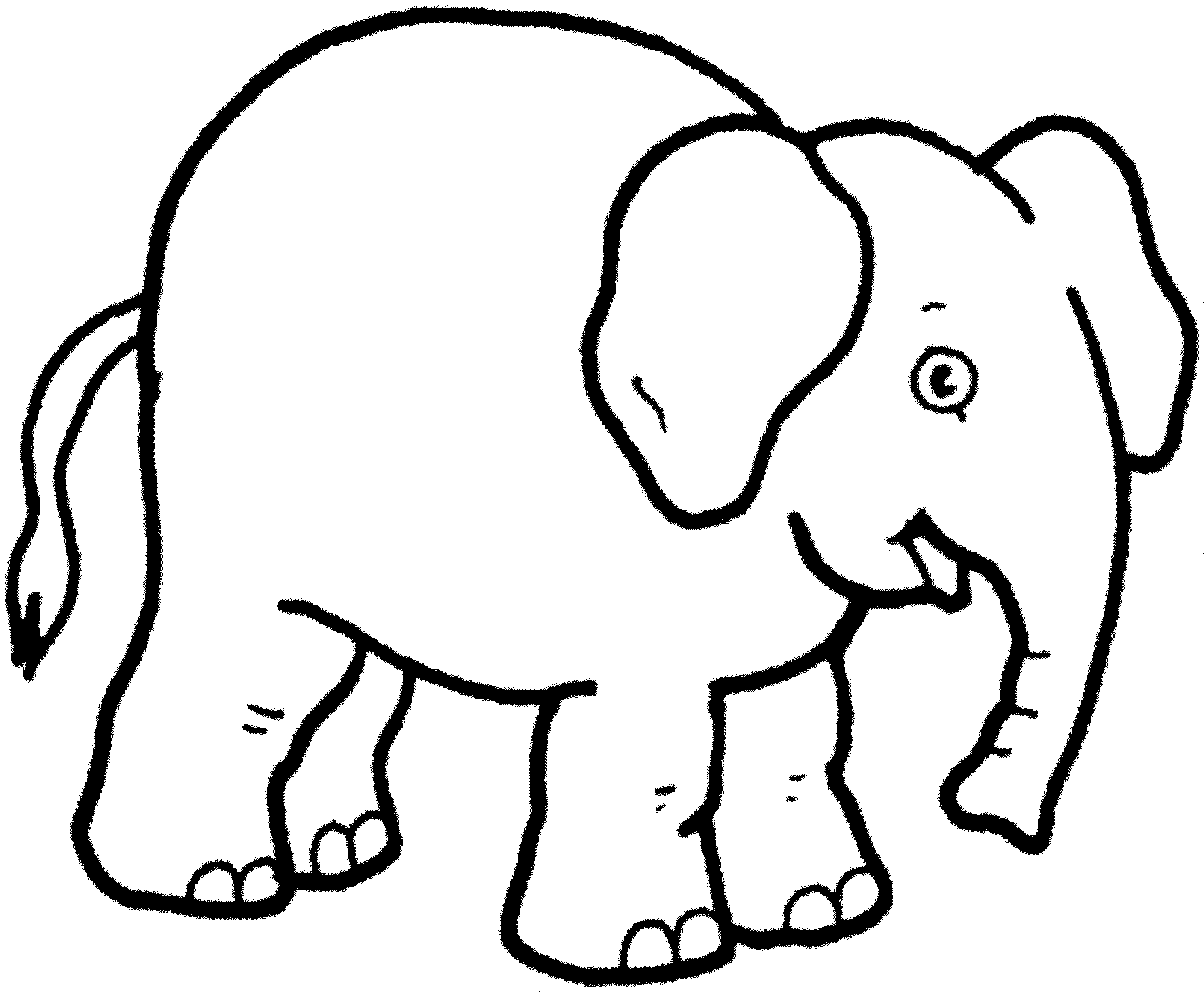 colouring pages of elephant print download teaching kids through elephant coloring elephant of colouring pages