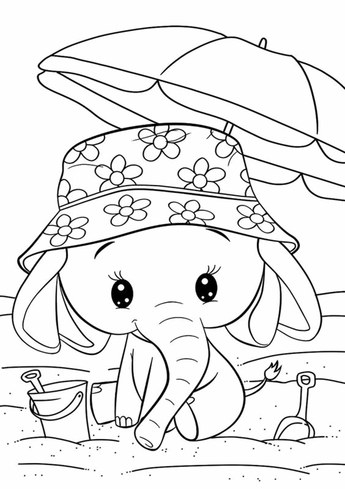 colouring pages of elephant print download teaching kids through elephant coloring pages elephant of colouring