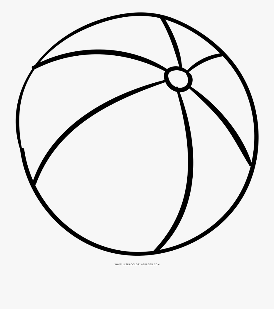 colouring picture of a ball beach ball coloring page transparent beach ball to color colouring ball picture a of