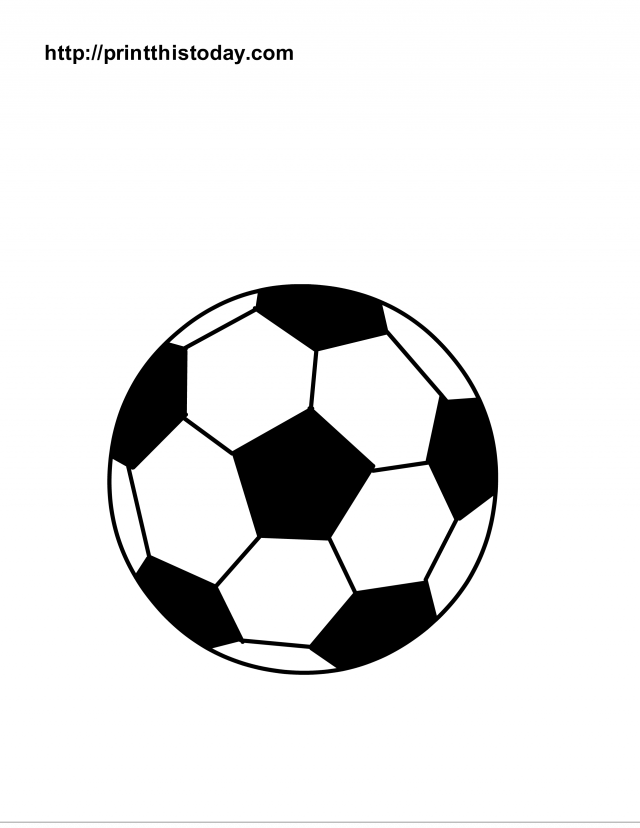 colouring picture of a ball printable soccer balls free printable sports balls a ball picture of colouring