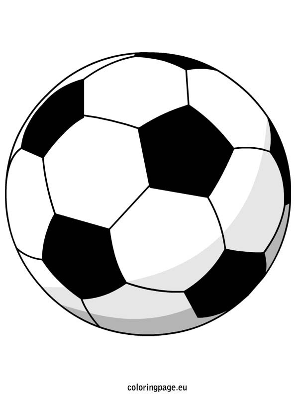 colouring picture of a ball soccer ball coloring page of picture ball a colouring