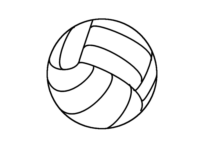 colouring picture of a ball soccer ball coloring page twisty noodle colouring of ball picture a