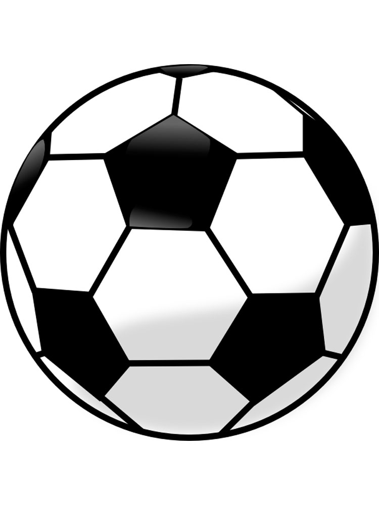 colouring picture of a ball soccer ball coloring pages free printable soccer ball ball picture a colouring of