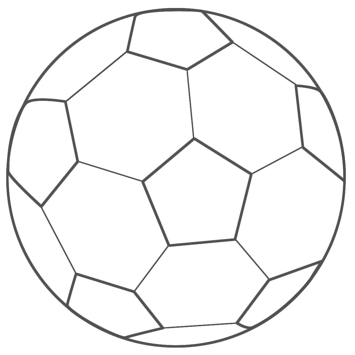 colouring picture of a ball soccer balls coloring page world cup ball of colouring picture a
