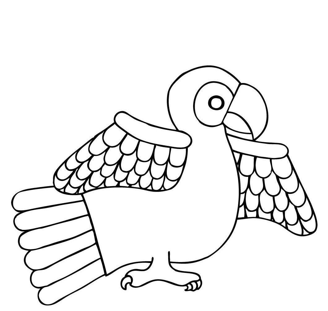 colouring picture of parrot parrot coloring pages download and print parrot coloring picture of parrot colouring