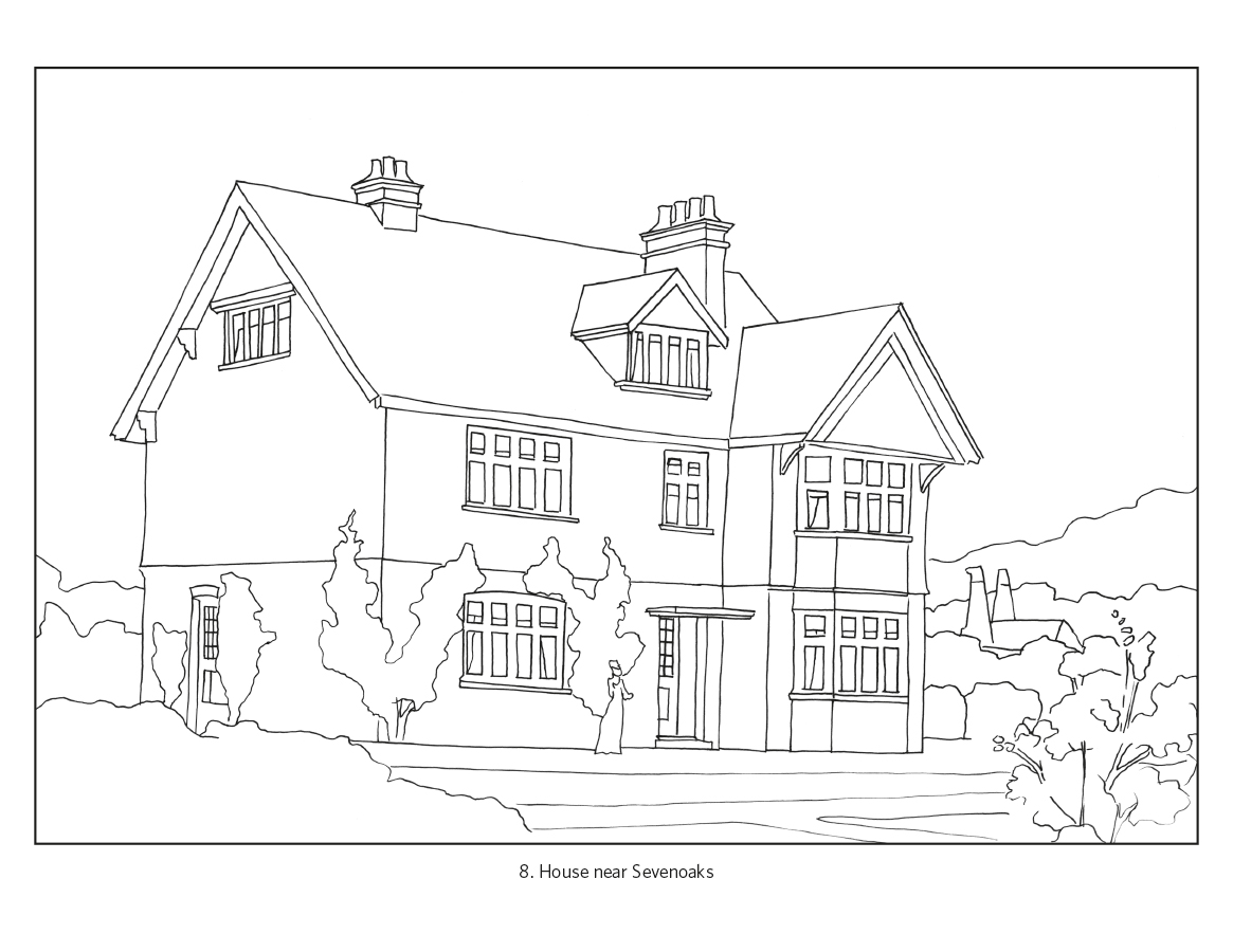 colouring pictures of houses clipart panda free clipart images of pictures houses colouring