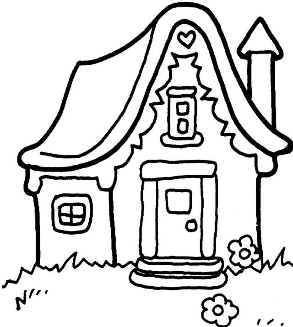 colouring pictures of houses free printable house coloring pages for kids pictures colouring houses of