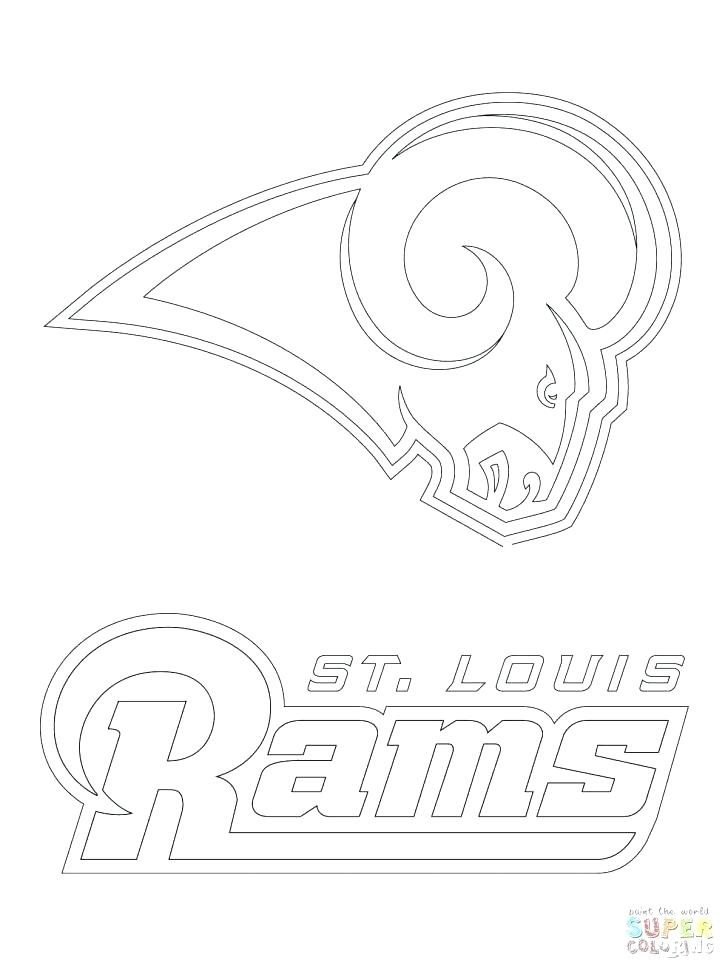 colts coloring pages broncos logo coloring page at getcoloringscom free coloring colts pages