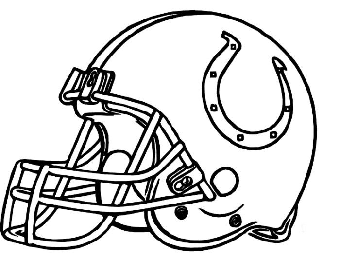 Colts coloring pages