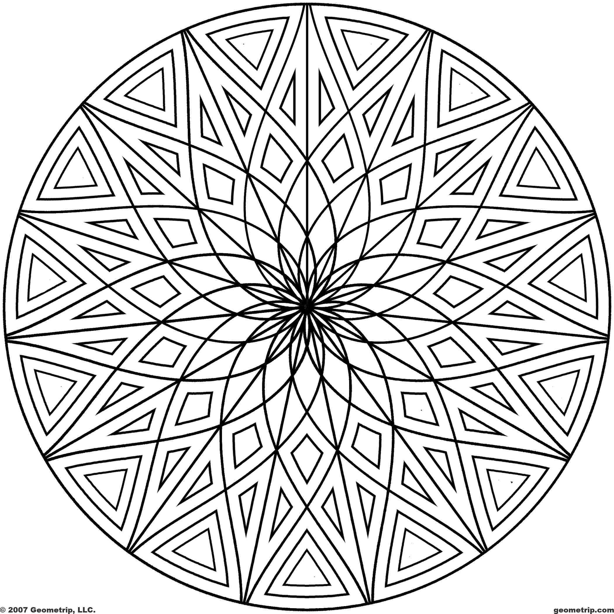cool abstract coloring pages 8 best images of printable coloring patterns free pages coloring abstract cool