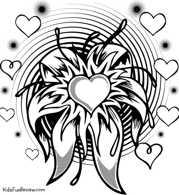 cool pictures to print 4 cute printable valentines day coloring pages the kid39s print cool to pictures