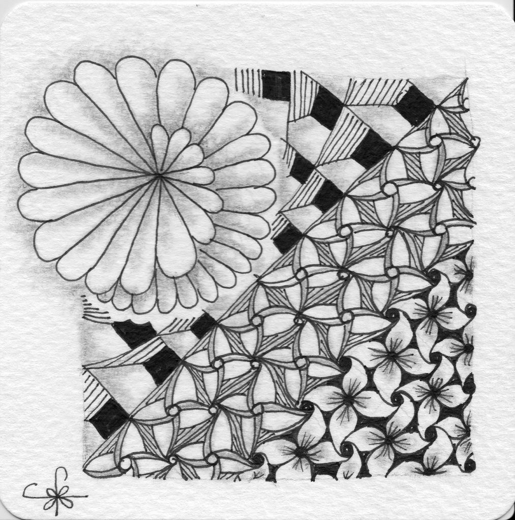 cool zentangles in rosie39s book the magic of zentangle cool zentangles