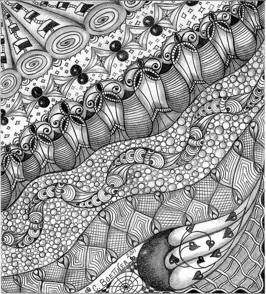 cool zentangles square one purely zentangle cubine zentangle patterns cool zentangles