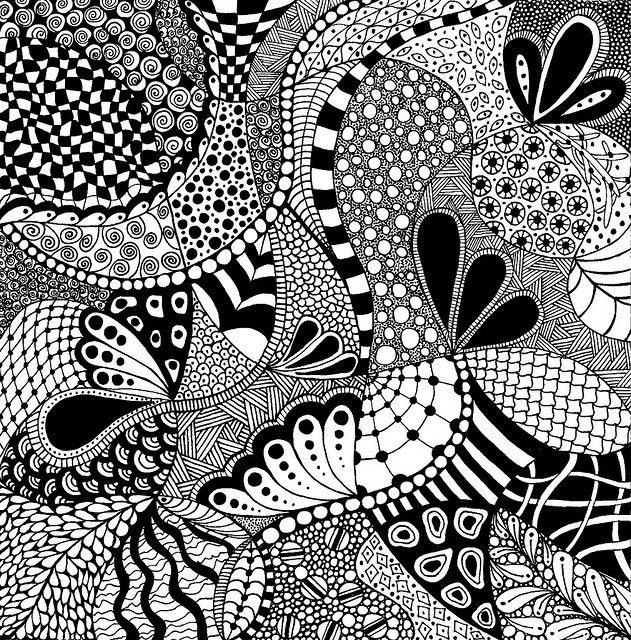 cool zentangles zentangle square 4 in 2020 zentangle patterns zentangle cool zentangles