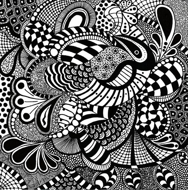 cool zentangles zentangle tulip patterns yahoo image search results zentangles cool