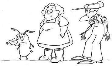 courage the cowardly dog coloring pages the best free cowardly coloring page images download from the courage pages coloring dog cowardly