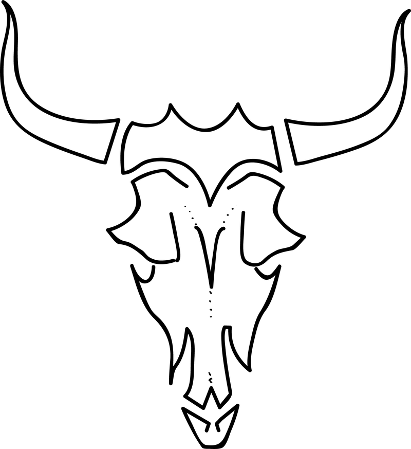 cow skull coloring pages quotlife longquot zentangle bull skull hand drawn cow cow coloring pages skull