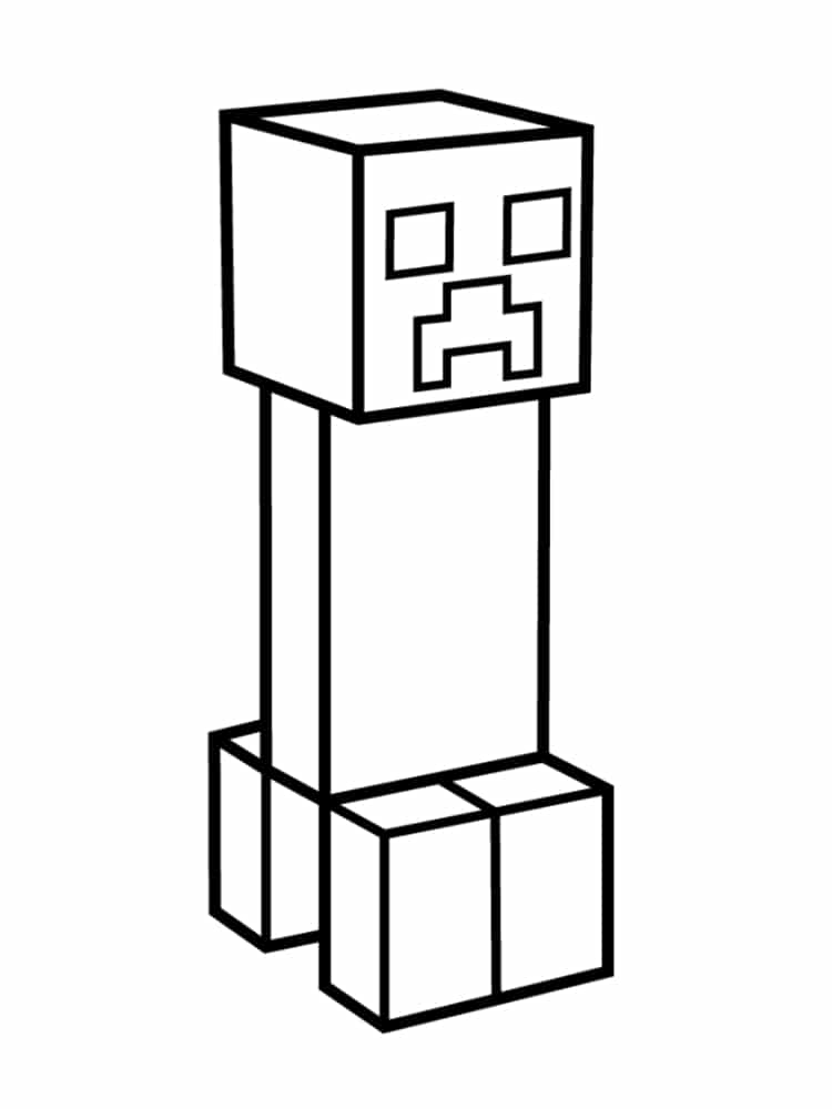 creeper coloring pages 24 minecraft creeper coloring page in 2020 minecraft creeper pages coloring