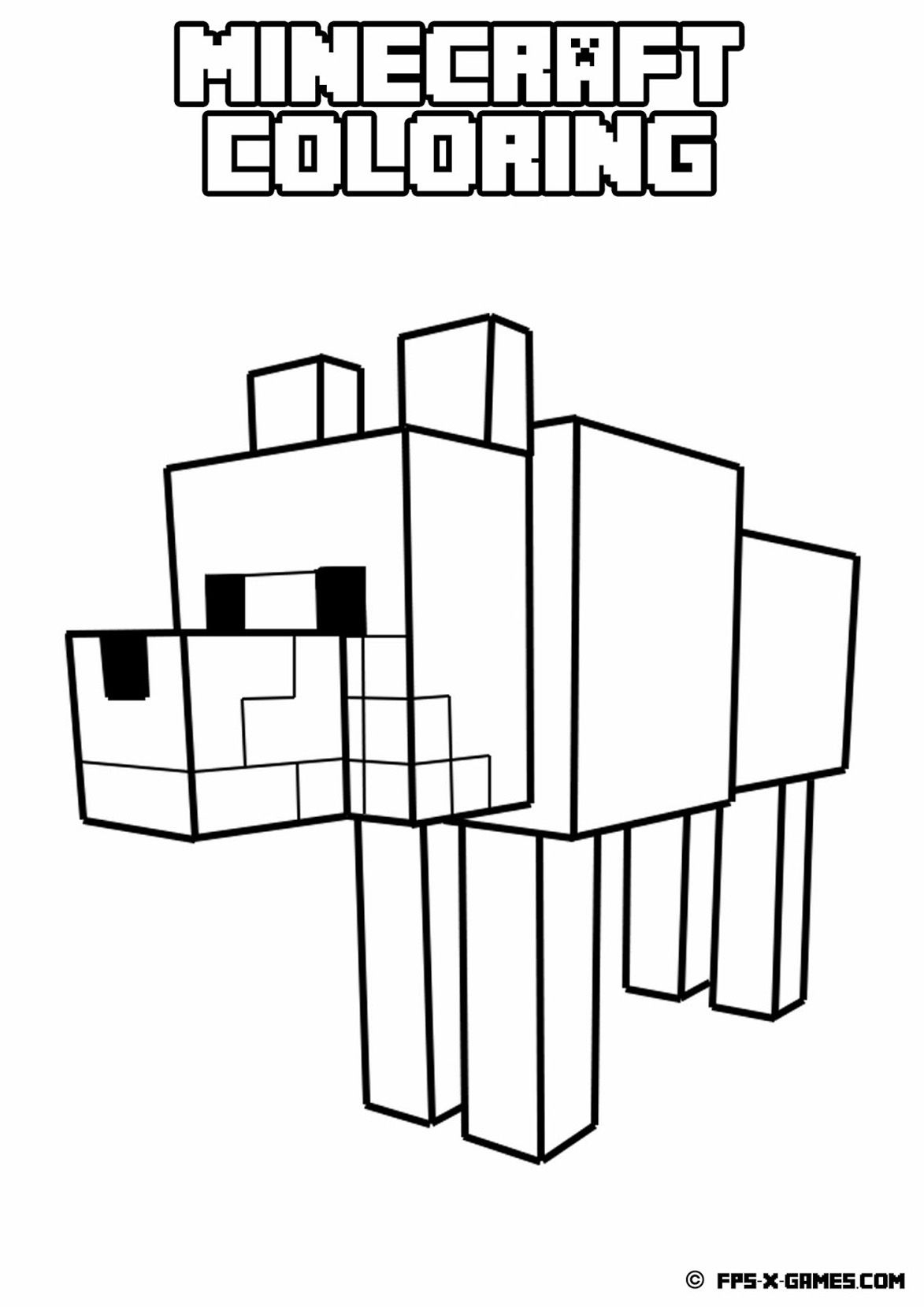 creeper coloring pages minecraft coloring pages for kids 6 coloring pages for creeper pages coloring