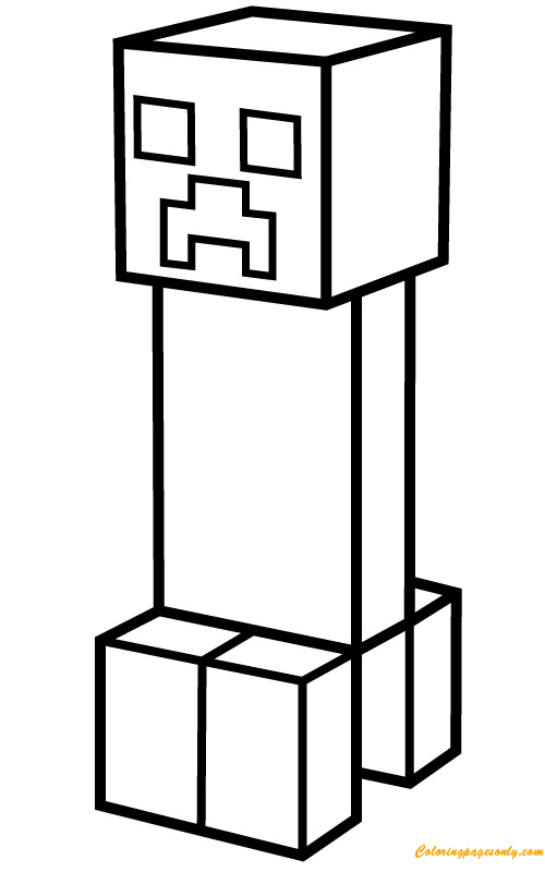 creeper coloring pages minecraft creeper coloring page for kids k5 worksheets creeper coloring pages