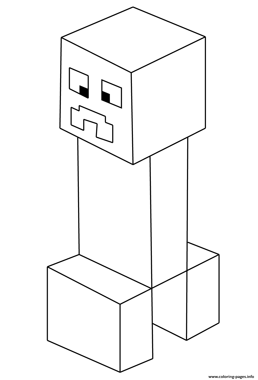 creeper coloring pages minecraft creeper coloring pages pages creeper coloring