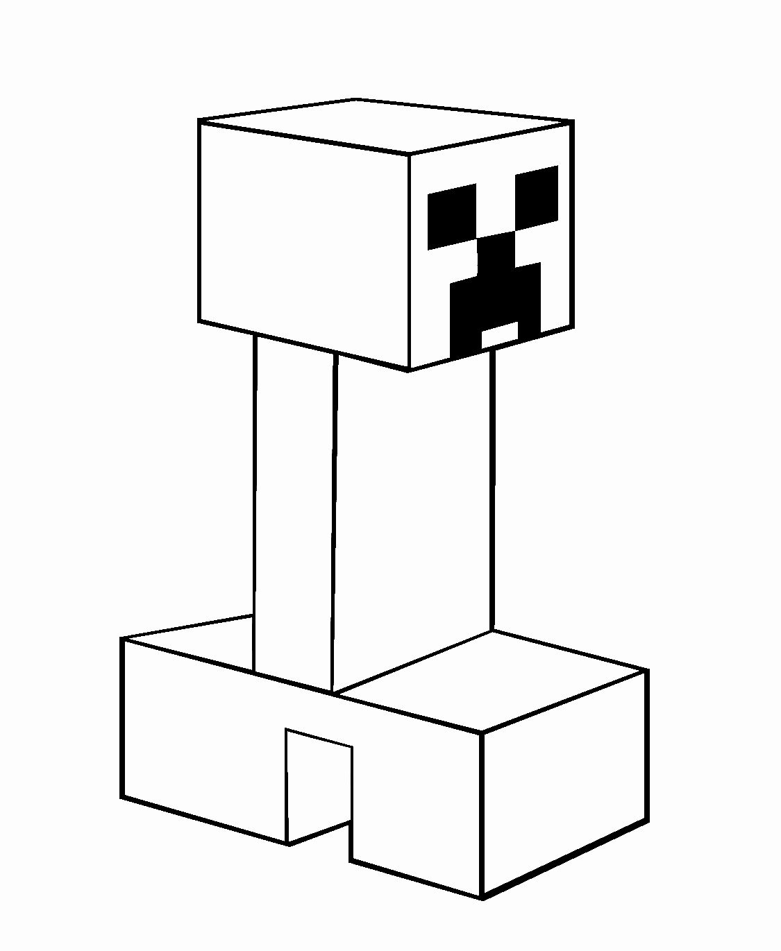 creeper coloring pages minecraft drawing creeper at getdrawings free download pages creeper coloring