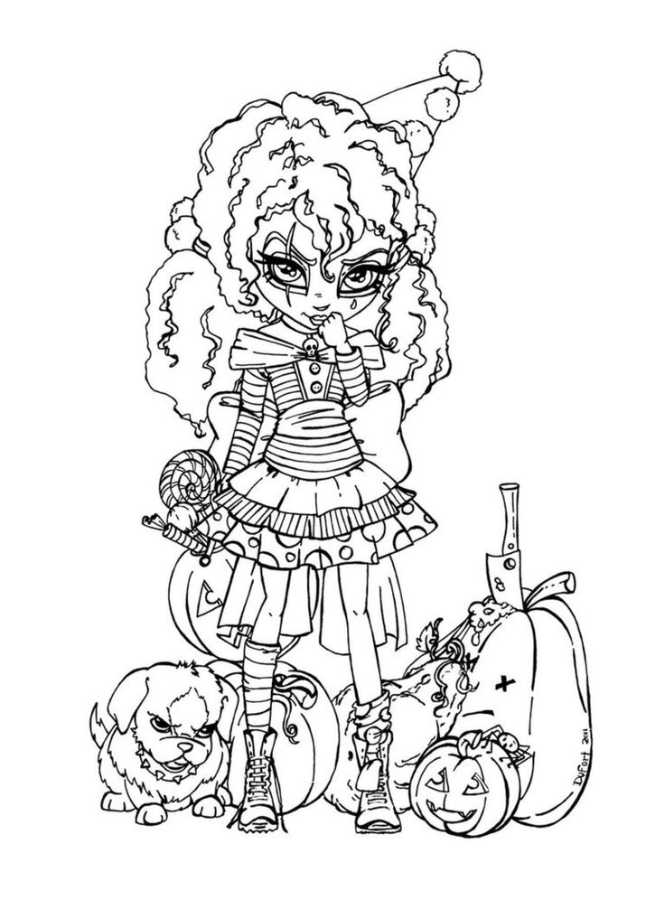 creepy fairy coloring pages 59 best halloween coloring sheets images on pinterest pages creepy fairy coloring