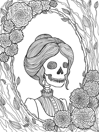 creepy fairy coloring pages best halloween coloring books for adults cleverpedia creepy pages fairy coloring