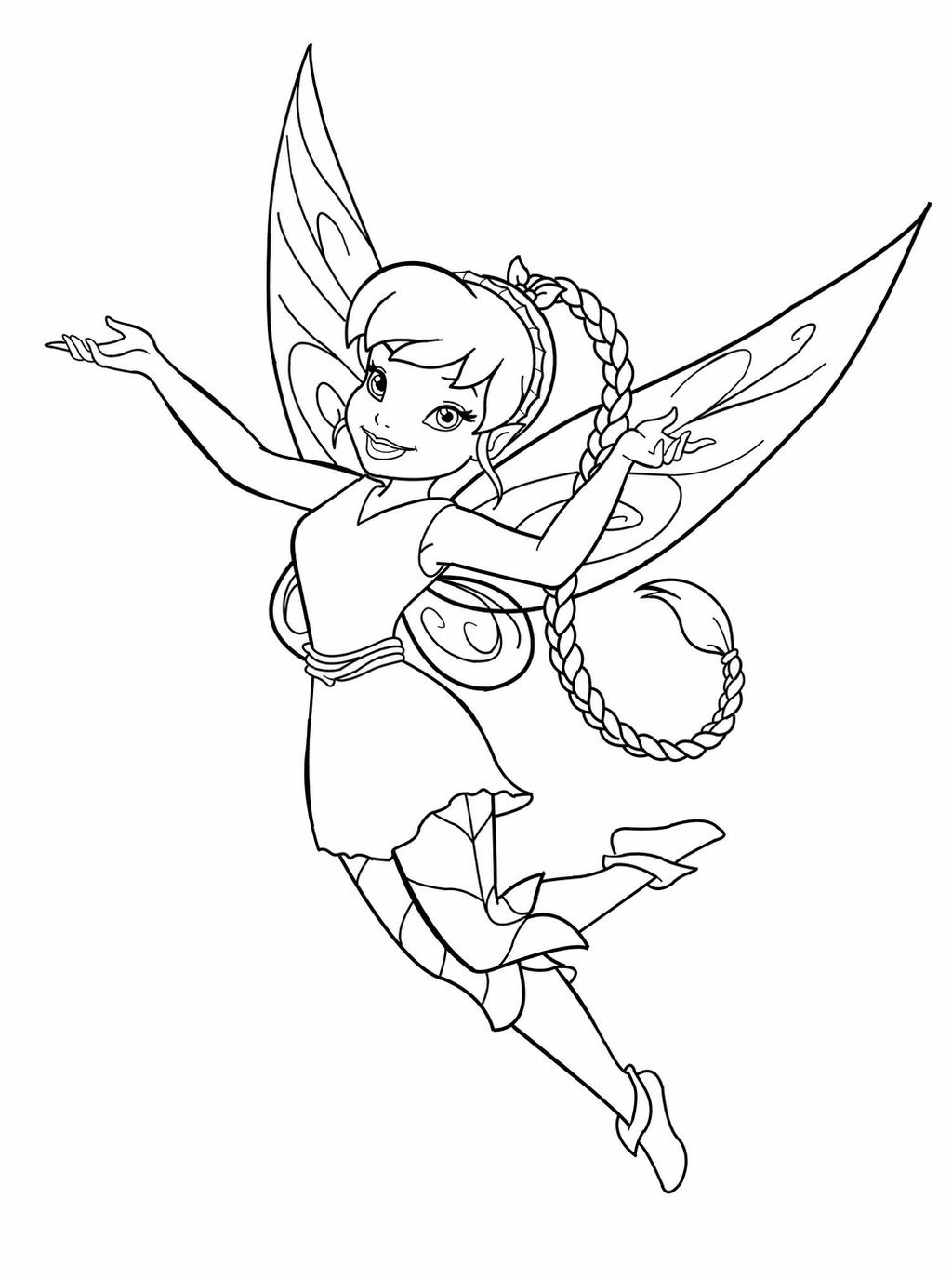 creepy fairy coloring pages disney fairyfawn lineart by mercuriusneko on deviantart fairy coloring creepy pages