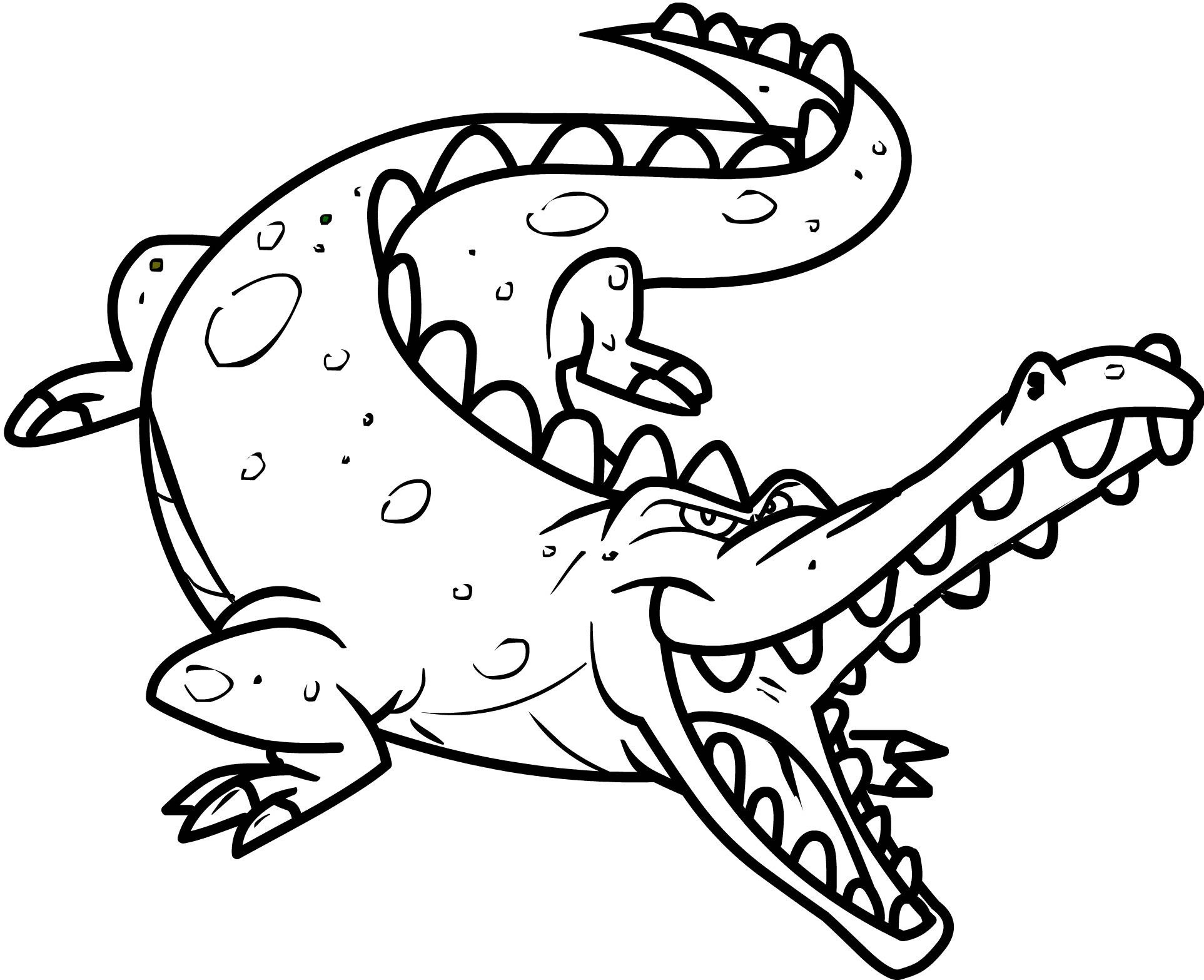 crocodile color crocodile coloring pages download and print crocodile crocodile color