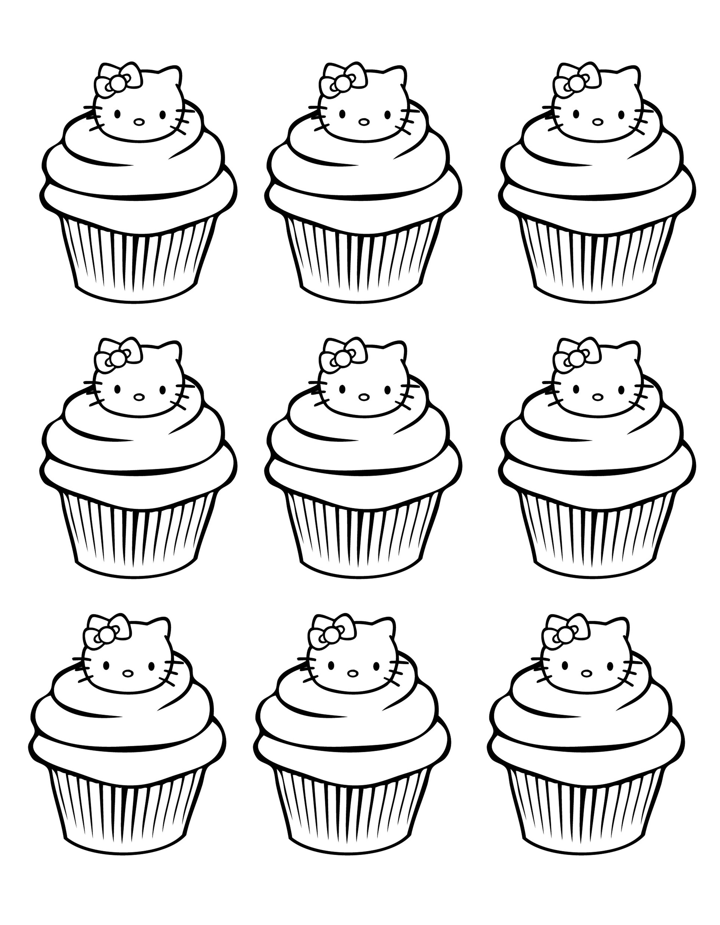 cup cake coloring pictures cupcakes and cakes free to color for kids cupcakes and cup coloring pictures cake